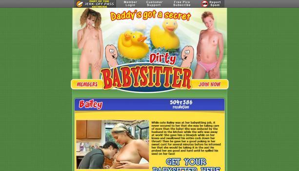 DirtyBabySitter – SiteRip