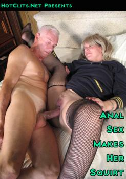 Anal Sex Makes Her Squirt