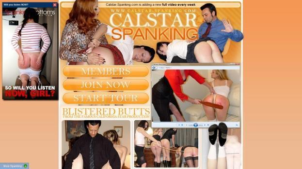 Calstar-Spanking - SiteRip